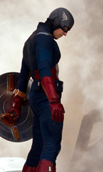 The Avengers, i vendicatori sono arrivati - In foto Chris Evans (Captain America) in una scena del film <em>The Avengers</em> di Joss Whedon.