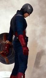 The Avengers, i vendicatori sono arrivati - In foto Chris Evans (Captain America) in una scena del film The Avengers di Joss Whedon.