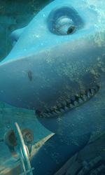 Seafood, uno squalo sulla terraferma - In foto una scena del film Seafood - Un pesce fuor d'acqua.