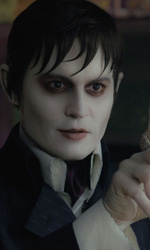 Dark Shadows, un eccentrico vampiro - Una scena del film Dark Shadows.