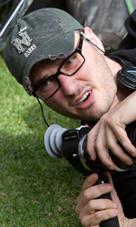 Chronicle, supereroi per caso - Il regista Josh Trank sul set del film Chronicle.