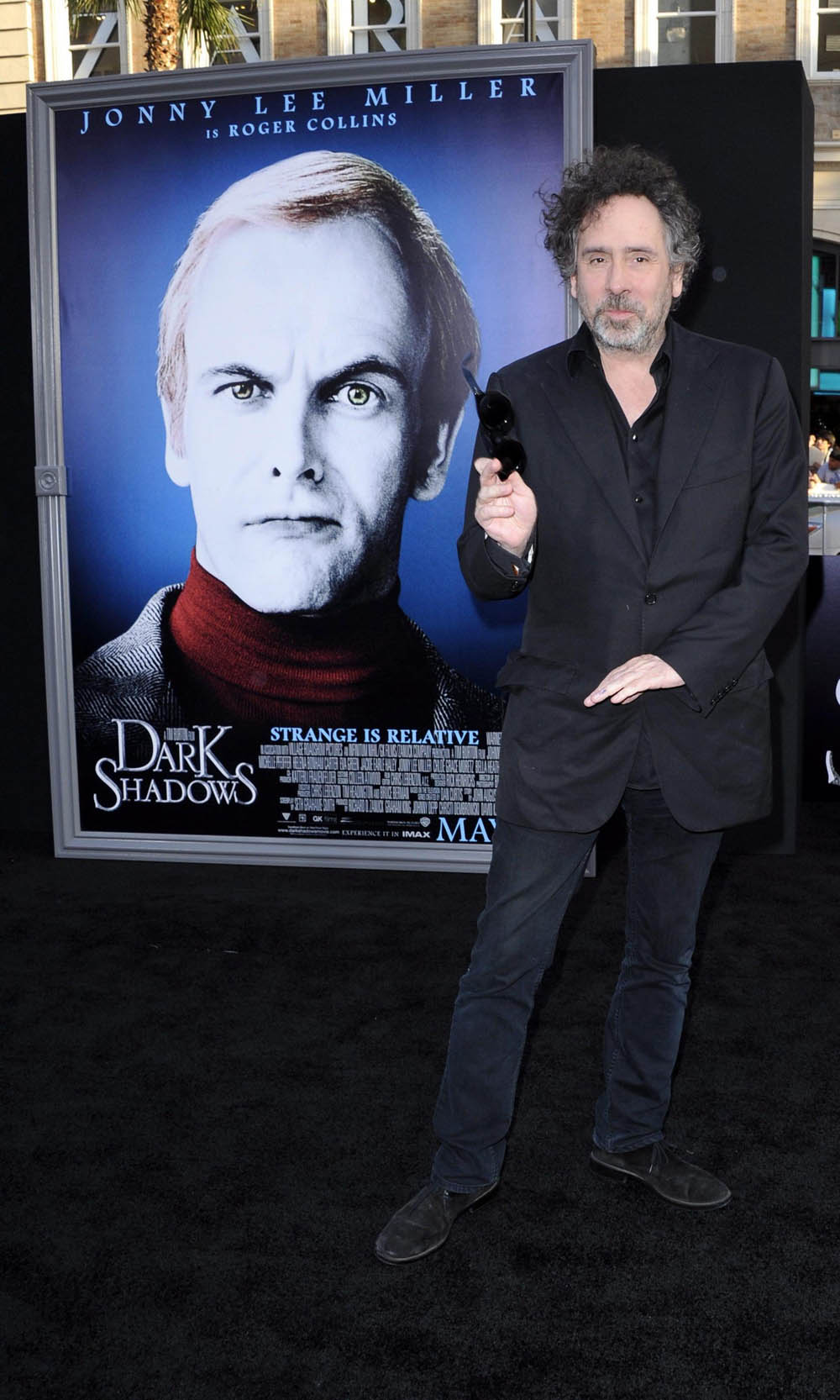 In foto Tim Burton (58 anni)