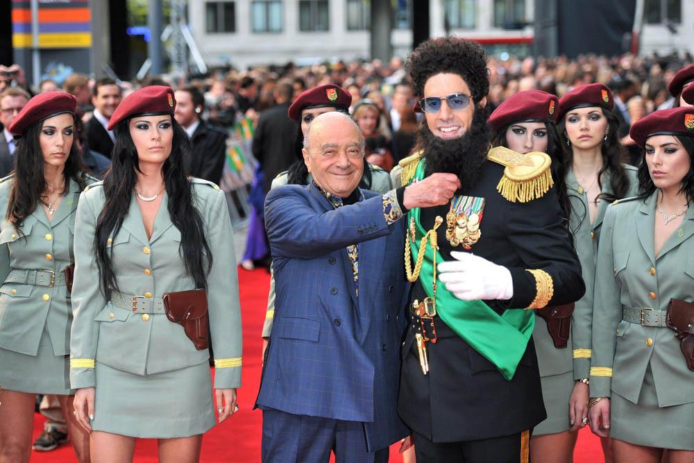 In foto Sacha Baron Cohen (45 anni)