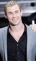 In foto Chris Hemsworth (34 anni)