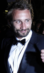 Cannes 65, flash per la Cotillard - L'attore belga Matthias Schoenaerts, protagonista maschile del film <em>De rouille et d'os</em>.