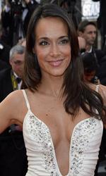 Cannes 65, flash per la Cotillard - Il volto noto della televisione francese Karine Lima.