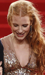 Cannes 65, dopo Garrone c'è Lawless - Il red carpet di Lawless, a Cannes.