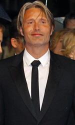 Cannes 65, l'amore secondo Michael Haneke - Il cast del film di Thomas Vinterberg Jagten alla premiere del film a Cannes.