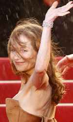 Cannes 65, l'amore secondo Michael Haneke - Isabelle Huppert alla premiere del film di Haneke <em>Amour</em> a Cannes.