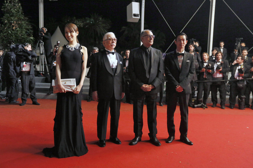 Il red carpet di <em>Like Someone in Love </em>.