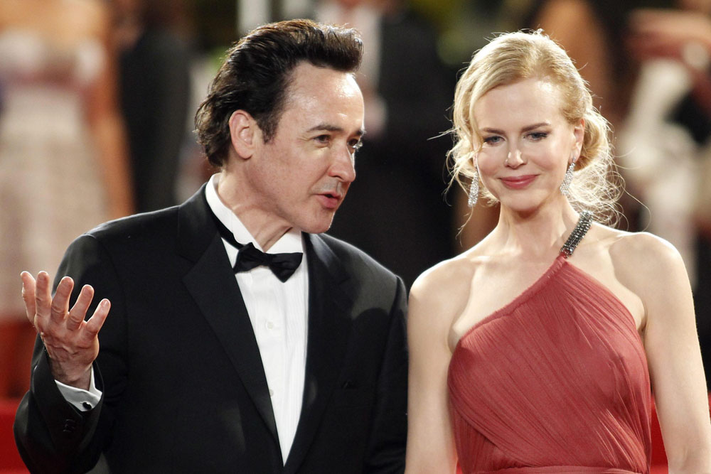 John Cusack e Nicole Kidman sul red carpet per <em>The Paperboy</em> di Lee Daniels.
