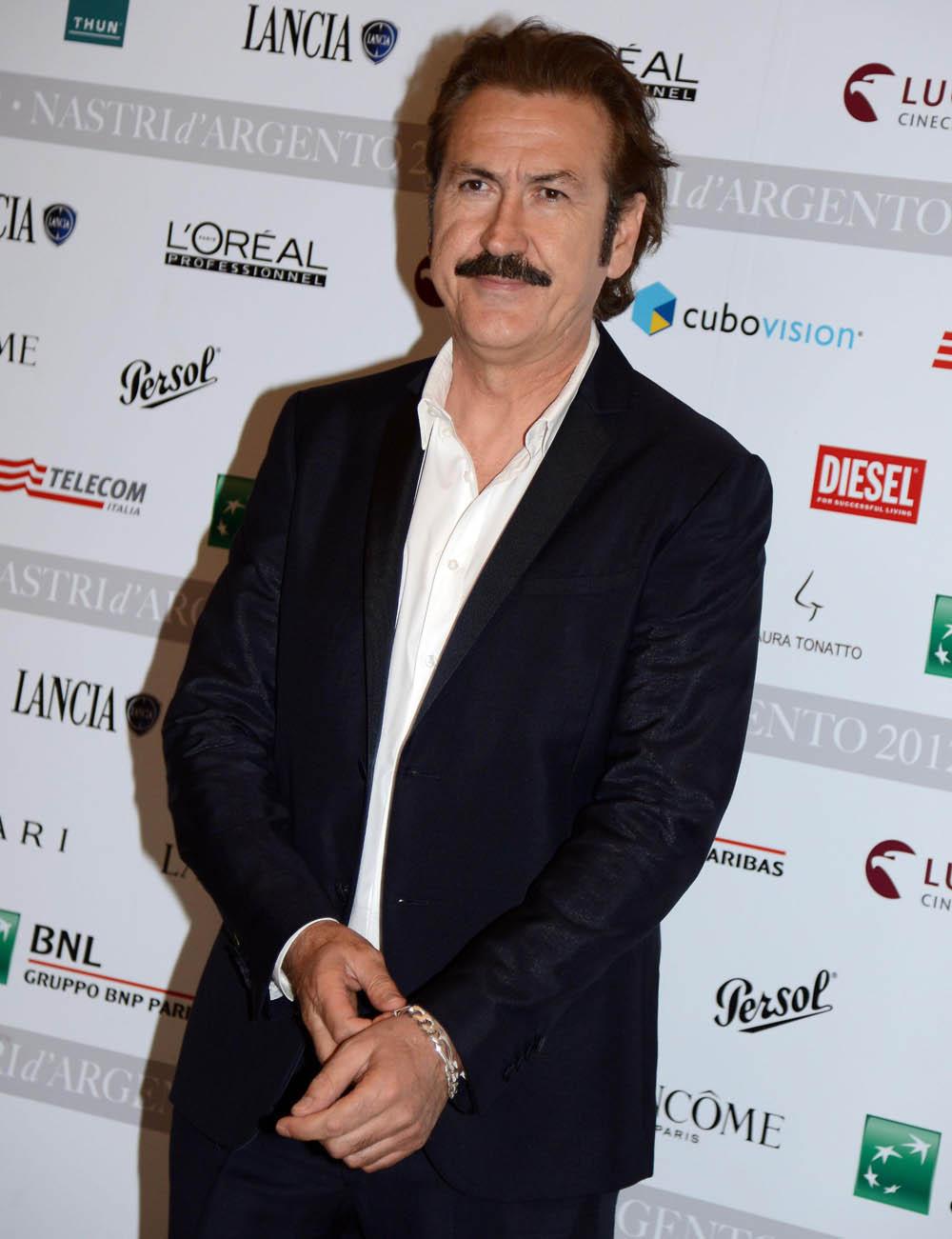 Nastri d'argento 2012, è sfida tra Giordana e Ozpetek - Marco Giallini al photocall dei Nastri d'argento 2012.