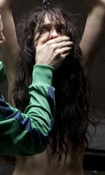 Paura 3D, le foto del film - Lorenzo Pedrotti e Francesca Cuttica in una scena del film Paura 3D dei Manetti Bros.