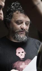 Paura 3D, le foto del film - Marco Manetti e Peppe Servillo sul set del film Paura 3D.