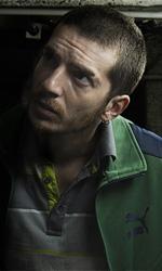 Film nelle sale: poliziotti, dittatori e... tanta paura (in 3D) - Lorenzo Pedrotti in una scena del film Paura 3D dei Manetti Bros.