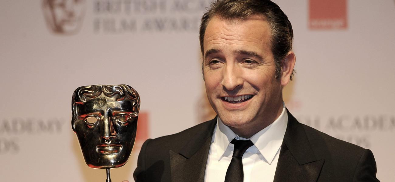 In foto l'attore Jean Dujardin.