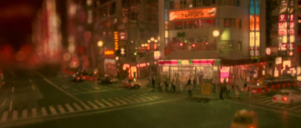 In foto una scena del film <em>Enter the Void</em> di Gaspar No�. -