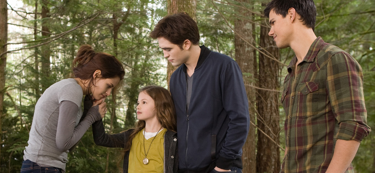 In foto una scena del film <em>Breaking Dawn - Parte 2</em>.