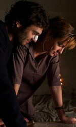 Travolti dalla cicogna su MYMOVIESLIVE! - In foto Louise Bourgoin e Pio Marma� in una scena del film.