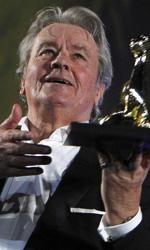 Locarno 65, ad Alain Delon il Pardo alla carriera - In foto Alain Delon.