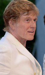 Venezia 69, la prima volta al Lido di Redford - Robert Redford con la moglie Sibylle Szaggars.