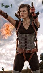 Resident Evil: Retribution, il conto alla rovescia è iniziato - In foto Milla Jovovich in una scena del film Resident Evil: Retribution di Paul W.S. Anderson.
