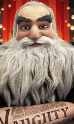 Festival di Roma 2012, Le 5 Leggende in anteprima mondiale - In foto Babbo Natale, uno dei protagonisti del film Le 5 leggende.