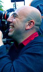 La politica degli autori: Paolo Virzì - In foto Paolo Virzi durante le riprese di Tutti i santi giorni.