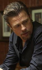 La depressione del killer - In foto Brad Pitt in una scena di Cogan.