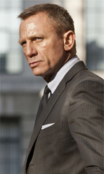 James Bond a Gotham City - In foto Daniel Craig in una scena del film Skyfall.