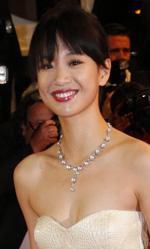 Cannes 66, in concorso Desplechin e Koreeda - In foto l'attrice Meng Li per la proiezione del film A Touch of Sin.