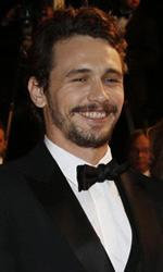 Cannes 66, Sorrentino e Soderbergh protagonisti - James Franco, Tim Blake Nelson, Ahna O'Reilly e Beth Grant sul red carpet di <em>Wara No Tate</em>.