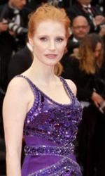 Cannes 66, il giorno di Payne e Kechiche - Jessica Chastain sul red carpet di Cannes.