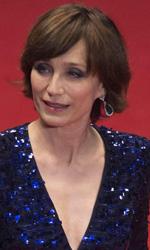 Cannes 66, il giorno di Payne e Kechiche - Kristin Scott Thomas prima della proiezione di <em>Solo Dio Perdona - Only God Forgives</em>, in concorso al Festival di Cannes.