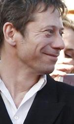 Cannes 66, in attesa della Palma d'oro - Mathieu Amalric, Emmanuelle Seigner e Roman Polanski sul red carpet di Venus in Fur, in concorso al Festival di Cannes.