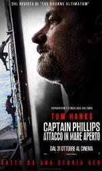 Captain Phillips- Attacco in mare aperto, la locandina -