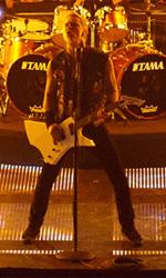 Il cinema in movimento - Una foto del film Metallica 3D: Through the Never.