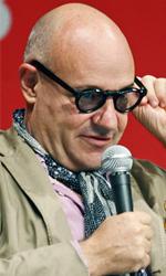 Busan 2013, bilanci e impressioni degli italiani - In foto Gianfranco Rosi, a Busan per presentare Sacro GRA.