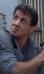 Muscoli e vintage - In foto Sylvester Stallone in una scena del film Escape Plan di Mikael Hafstr�m.