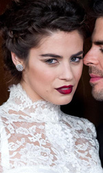 Festival di Roma 2013, in scena l'Oriente - Eli Roth e Lorenza Izzo sul red carpet di Roma per The Green Inferno.