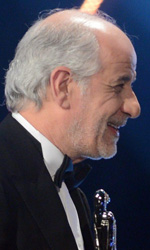 EFA 2013, La grande bellezza miglior film europeo - In foto Toni Servillo riceve il premio come Miglior Attore per La Grande bellezza.