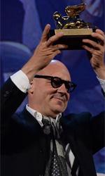 Il cinema in movimento - In foto Gianfranco Rosi con il Leone d'oro vinto per Sacro GRA.