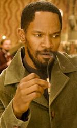 Cinema americano scatenato - In foto Jamie Foxx e Franco Nero in una scena di Django Unchained.