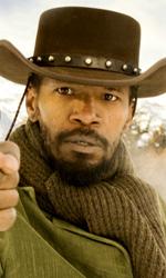 Django Unchained ancora fortissimo - In foto Jamie Foxx in una scena di Django Unchained.