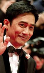 Berlinale 2013, il giorno di Gus Van Sant - Tony Leung prima della proiezione del film The Grandmasters.