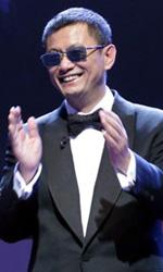 Berlinale 2013, il giorno di Gus Van Sant - Wong Kar Wai e il direttore della Berlinale Dieter Kosslick.