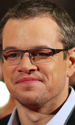 Berlinale 2013, in concorso Shia LaBeouf contende la donna a un boss - Matt Damon sul red carpet del film <em>Promised Land</em>.