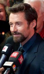 Berlinale 2013, il giorno delle donne - Hugh Jackman sul red carpet del film Les Mis�rables.