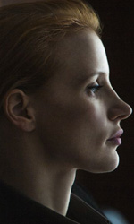Donne che odiano Bin Laden - In foto Jessica Chastain in una scena del film Zero Dark Thirty di  Kathryn Bigelow.