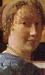Exhibition: l'arte pura sul grande schermo - In foto l'olio su tela  'A Lady Standing at a Virginal' di Johannes Vermeer.